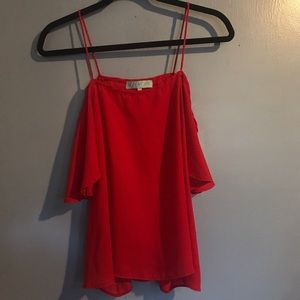 Aina Be Strap and Off Shoulder Blouse